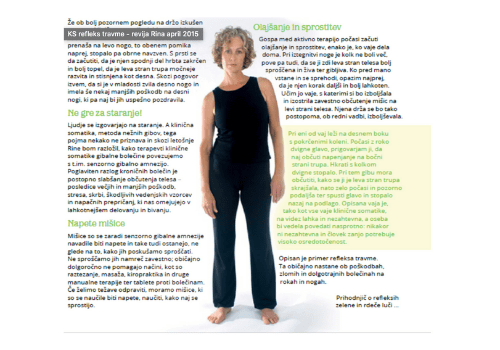 Read more about the article Klinična somatika, refleks travme