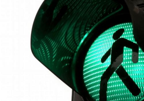GREEN LIGHT REFLEX